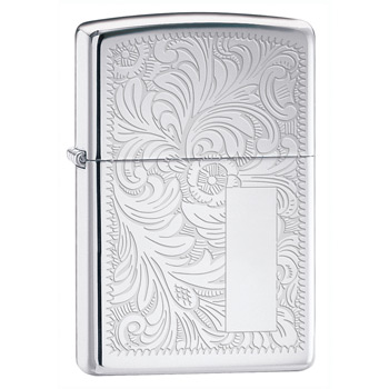 Зажигалка Zippo 352 Venetian High Polish Chrome