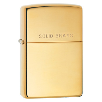 Зажигалка Zippo 254 High Polish Brass