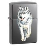 Зажигалка Zippo 769 Wolf Black Ice