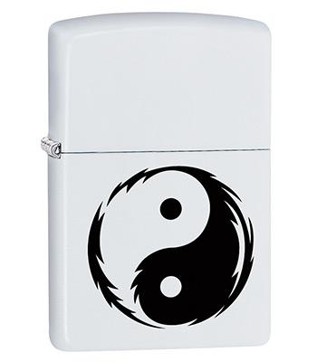 Зажигалка Zippo 29544 Yin Yang White Matte