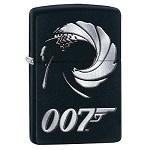 яЗажигалка Zippo 29566 James Bond Black Matte