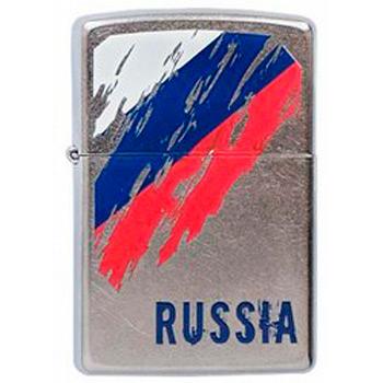 Зажигалка Zippo 207 Russia Flag
