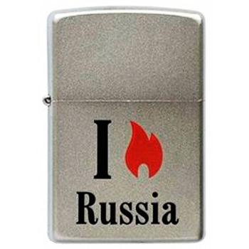 Зажигалка Zippo 205 Flame Russia