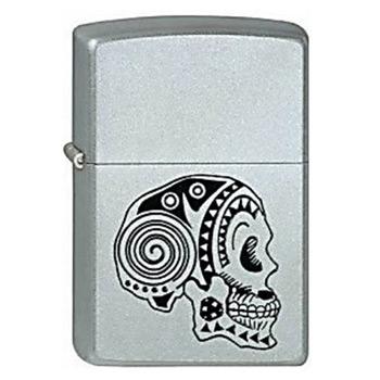Зажигалка Zippo 205 Tattoo Skull