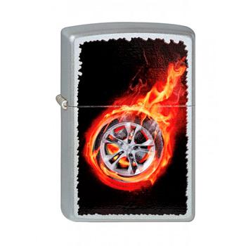 Зажигалка Zippo 205 Tire On Fire