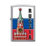 Зажигалка Zippo 207 Kremlin Flag Russia