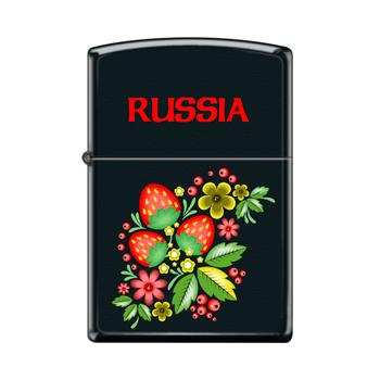 Зажигалка Zippo 218 Russian Khokhloma