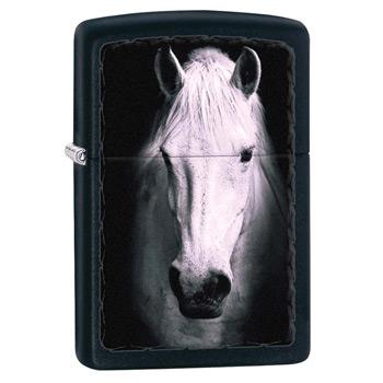 яЗажигалка Zippo 218 White Horse