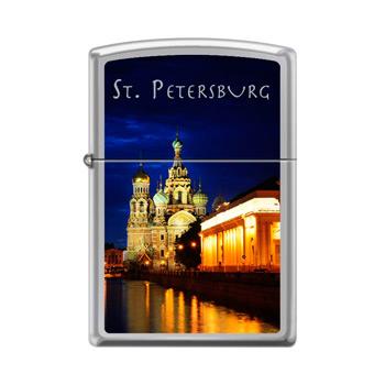 Зажигалка Zippo 250 St Petersburg Church