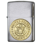 Зажигалка Zippo 280Arm Brushed Chrome