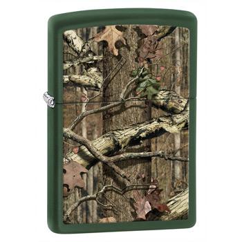 яЗажигалка Zippo 28331 Mossy Oak Green Matte