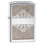 Зажигалка Zippo 28467 Filigree High Polish Chrome