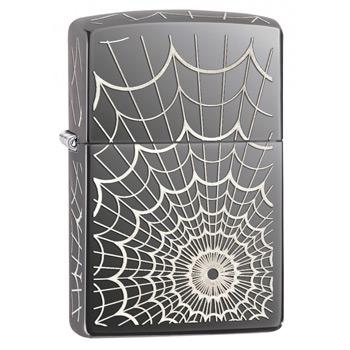 яЗажигалка Zippo 28527 Web Black Ice