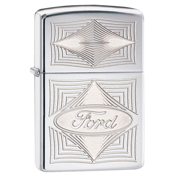 яЗажигалка Zippo 28625 Ford High Polish Chrome