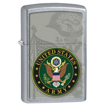 яЗажигалка Zippo 28632 US Army Street Chrome