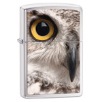 Зажигалка Zippo 28650 Owl Brushed Chrome