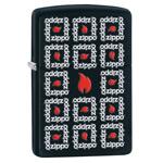 яЗажигалка Zippo 28667 Zippo Surround Black Matte
