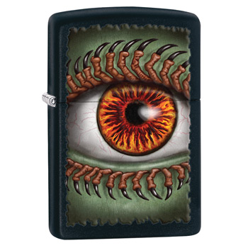 яЗажигалка Zippo 28668 Monster Eye Black Matte