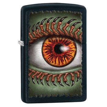 яЗажигалка Zippo 28668 Monster Eye Black Matte
