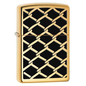 яЗажигалка Zippo 28675 Gold Chain High Polish Brass