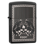 яЗажигалка Zippo 28678 Winged Skulls