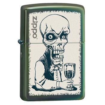яЗажигалка Zippo 28679 Skeleton Bartender
