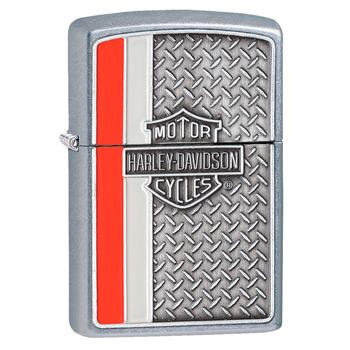 яЗажигалка Zippo 28732 Harley-Davidson Street Chrome
