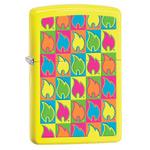 Зажигалка Zippo 28954 Flame Neon Yellow