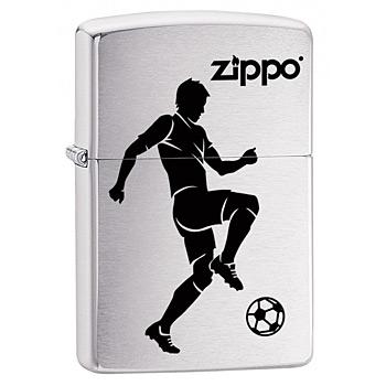яЗажигалка Zippo 29201 Soccer Player