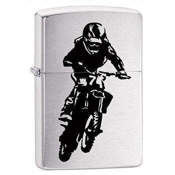 яЗажигалка Zippo 29207 Motorcross Rider