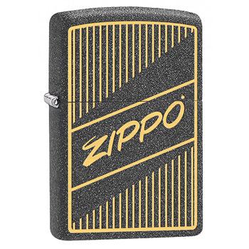 Зажигалка Zippo 29219 Zippo Logo Iron Stone