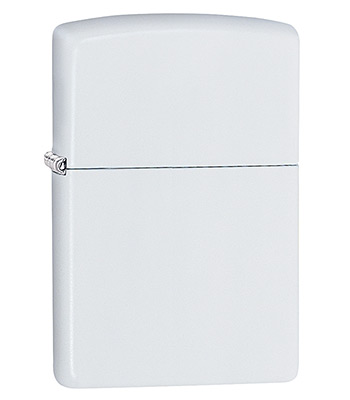 Зажигалка Zippo 214 White Matte
