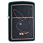 яЗажигалка Zippo 28816 Playboy Black Matte