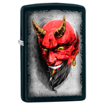 яЗажигалка Zippo 28862 Devil Black Matte