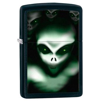яЗажигалка Zippo 28863 Aliens Black Matte