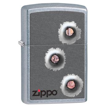 яЗажигалка Zippo 28870 Bulletholes Street Chrome