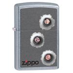 Зажигалка Zippo 28870 Bulletholes Street Chrome