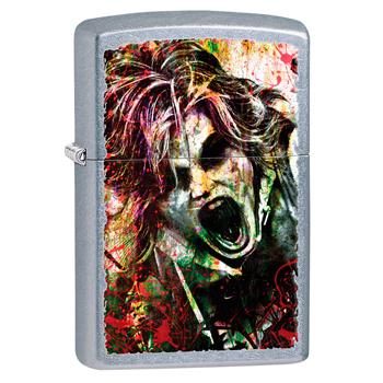 яЗажигалка Zippo 28876 Zombie Street Chrome