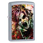 Зажигалка Zippo 28876 Zombie Street Chrome