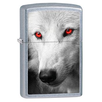 Зажигалка Zippo 28877 Snow Wolf Street Chrome
