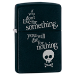 Зажигалка Zippo 29091 Die for Nothing Black Matte