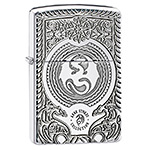 яЗажигалка Zippo 28962 Anne Stokes Armor High Polish Chrome