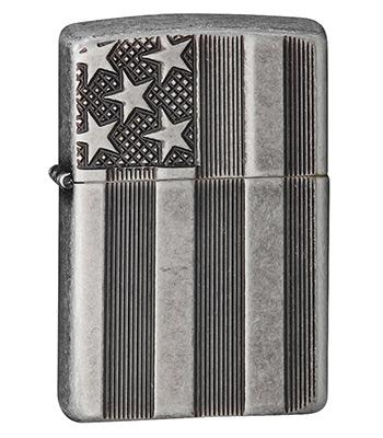 Зажигалка Zippo 28974 Antique Silver Plate Armor