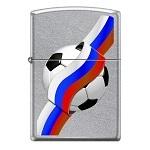 Зажигалка Zippo 207 Российский футбол Street Chrome